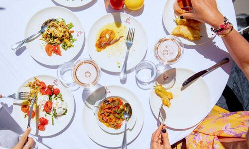 Restaurant-La Petite Maison-Nice