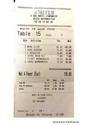 La Table d'Elise - Copie