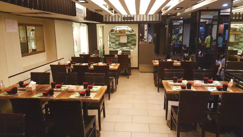 The interiors of Tim Ho Wan (Sham Shui Po)