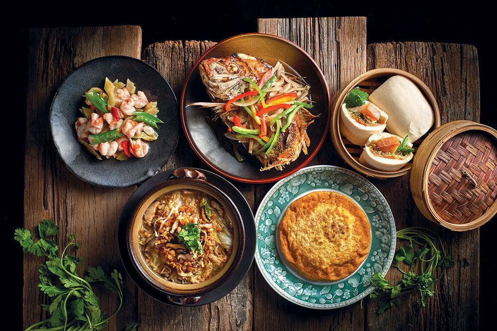在米香,主廚陳永華資深的經歷與海外見聞,讓他創造出細緻獨特的家常菜。(圖片:米香提供)